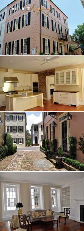 53 Tradd Street Luxury Home in Historic Charleston, SC - photo collage